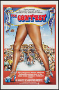 "Movie Posters:Sexploitation, The Contest (Atlas Films, 1976). One Sheet (27"" X 41"") Flat-Folded.Also known as ""Miss Nude America."" Sexploitation.. ..."