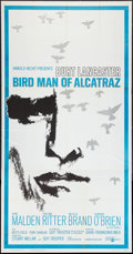 "Movie Posters:Drama, Bird Man of Alcatraz (United Artists, 1962). Three Sheet (41"" X 81""). Drama.. ..."