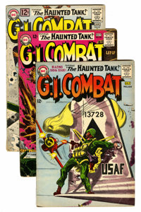 G.I. Combat Group (DC, 1962-68) Condition: Average VG.... (Total: 26 Comic Books)