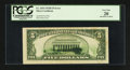 Error Notes:Ink Smears, Fr. 1654 $5 1934D Wide I Silver Certificate. PCGS Very Fine 20.....