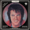 Music Memorabilia:Recordings, Elvis Presley To Elvis: Still Burning Picture Discs (Fotoplay FSP-1001, 1978).... (Total: 3 )