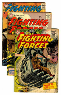 Our Fighting Forces Group (DC, 1954-57).... (Total: 12 Comic Books)