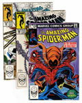 Modern Age (1980-Present):Superhero, The Amazing Spider-Man Group (Marvel, 1982-89) Condition: AverageNM.... (Total: 65 Comic Books)