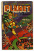 Golden Age (1938-1955):Science Fiction, Planet Comics #71 (Fiction House, 1953) Condition: GD/VG....