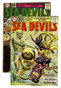 Silver Age (1956-1969):Superhero, Sea Devils #1 and 2 Group (DC, 1961).... (Total: 2 Comic Books)
