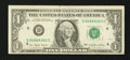 Error Notes:Ink Smears, Fr. 1909-D $1 1977 Federal Reserve Note. Very Fine.. ...
