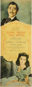Movie/TV Memorabilia:Posters, Gone With the Wind Poster Insert....