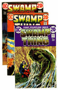 Bronze Age (1970-1979):Horror, Swamp Thing Related Long Box Group (DC, 1972-90s)....