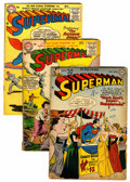 Silver Age (1956-1969):Superhero, Superman Group (DC, 1951-57) Condition: Average GD.... (Total: 13 Comic Books)