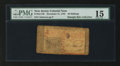 Colonial Notes:New Jersey, New Jersey December 31, 1763 30s PMG Choice Fine 15.. ...