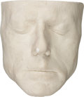 Movie/TV Memorabilia:Memorabilia, Robert Redford Life Mask....