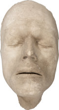 Movie/TV Memorabilia:Memorabilia, David Bowie The Man Who Fell to Earth Life Mask....