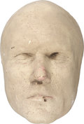 Movie/TV Memorabilia:Memorabilia, Kris Kristofferson Heaven's Gate Life Mask....