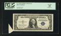 Error Notes:Attached Tabs, Fr. 1613w $1 1935D Silver Certificate. PCGS Very Fine 35.. ...
