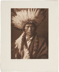 American Indian Art:Photographs, EDWARD S. CURTIS (1868-1952) The North American Indian, Portfolio 1; The Large Plates Supplementing Volume One o...