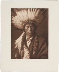EDWARD S. CURTIS (1868-1952) The North American Indian, Portfolio 1; The Large Plate