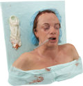 Movie/TV Memorabilia:Props, Tom and Bari Burman Nip/Tuck Prop Female Surgery SpecialEffects Bust. ...
