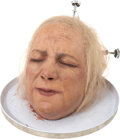 Movie/TV Memorabilia:Props, Tom and Bari Burman Nip/Tuck Prop Head....