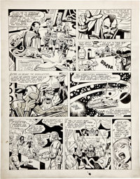 Jack Kirby and Bill Wray The Astrals page 3 Original Art (c. late 1970s)