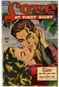 Golden Age (1938-1955):Romance, Love at First Sight #9 Mile High pedigree (Ace, 1951) Condition:FN+....