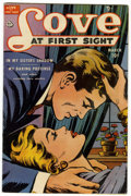 Golden Age (1938-1955):Romance, Love at First Sight #8 Mile High pedigree (Ace, 1951) Condition:FN....