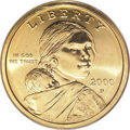 "Sacagawea Dollars, 2000-P $1 ""Cheerios"" MS67 PCGS.... (Total: 2 coins)"