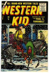 Western Kid #8 Mile High pedigree (Atlas, 1956) Condition: NM