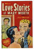 Golden Age (1938-1955):Romance, Love Stories of Mary Worth #3 Mile High pedigree (Harvey, 1950)Condition: FN+....