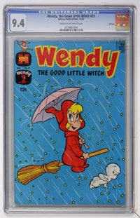 Wendy, the Good Little Witch #22 File Copy (Harvey, 1964) CGC NM+ 9.6 Off-white pages
