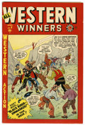 Golden Age (1938-1955):Western, All Western Winners #4 Mile High pedigree (Marvel, 1949) Condition:NM-....