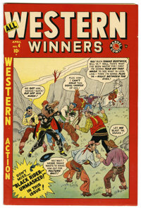 All Western Winners #4 Mile High pedigree (Marvel, 1949) Condition: NM-