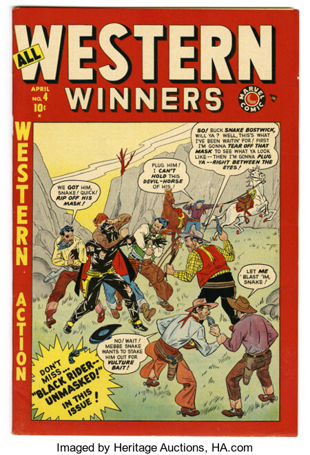 All Western Winners #4 Mile High pedigree (Marvel, 1949) Condition: NM-....