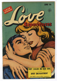 Love Experiences #13 Mile High pedigree (Ace, 1952) Condition: VG