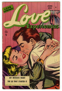 Love Experiences #7 Mile High pedigree (Ace, 1951) Condition: VG+