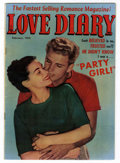 Golden Age (1938-1955):Romance, Love Diary #25 Mile High pedigree (Our Publishing Co., 1952) Condition: FN+....