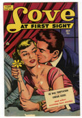 Golden Age (1938-1955):Romance, Love at First Sight #10 Mile High pedigree (Ace, 1951) Condition:VG+....