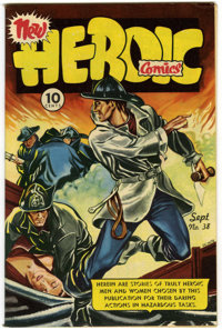 Heroic Comics #38 Mile High pedigree (Eastern Color, 1946) Condition: NM-