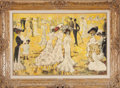 Movie/TV Memorabilia:Original Art, High Society Promenade (c. 1955-60) by Orry-Kelly (American,1897-1964)....