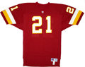 Football Collectibles:Uniforms, Circa 1993 Earnest Byner Game Issued, Signed Jersey and Photograph....
