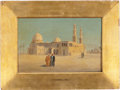 Movie/TV Memorabilia:Original Art, Landscape with Mosque (1880) by Frederick Goodall, R.A. (British, 1822-1904)....