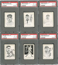 "Baseball Cards:Sets, 1950 Callahan ""Baseball Hall of Fame"" Near Set (61). ..."