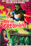 """Movie Posters:Comedy, Carry On Screaming! (Anglo Amalgamated, 1966). British One Sheet(27"""" X 40"""").. ..."""