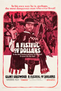 """Movie Posters:Western, A Fistful of Dollars (United Artists, 1967). One Sheet (27"""" X41"""").. ..."""