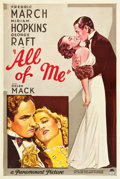 "Movie Posters:Drama, All of Me (Paramount, 1934). One Sheet (27"" X 41"") Style A.. ..."