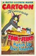 "Movie Posters:Animation, Hatch Up Your Troubles (MGM, 1949). One Sheet (27"" X 41"").. ..."