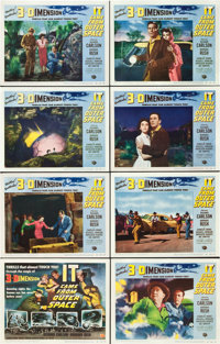 """It Came from Outer Space (Universal International, 1953). Lobby Card Set of 8 (11"""" X 14""""). ... (Total: 8 Items..."""