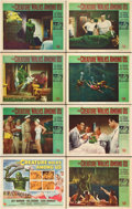 "Movie Posters:Horror, The Creature Walks Among Us (Universal International, 1956). LobbyCard Set of 8 (11"" X 14"").. ... (Total: 8 Items)"