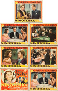 "Movie Posters:Comedy, Ninotchka (MGM, 1939). Title Lobby Card and Lobby Cards (6) (11"" X14"").. ... (Total: 7 Posters)"