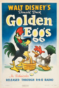 "Movie Posters:Animation, Golden Eggs (RKO, 1941). One Sheet (27"" X 41"").. ..."