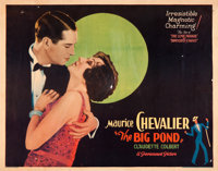 "The Big Pond (Paramount, 1930). Half Sheet (22"" X 28"") Style A"